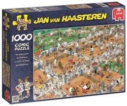 Puzzle 1000 Jumbo 17076 Na Kortach Tenisowych