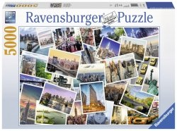 Puzzle 5000 Ravensburger 174331 New York - Kolaż