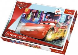 Puzzle 24 Maxi Trefl 14235 Auta - Miasto Nocą
