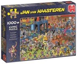Puzzle 1000 Jumbo 19060 Jan van Haasteren - Wrotkowe Szaleństwo