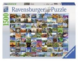 Puzzle 1500 Ravensburger 163199 - Najpiękniejsze Miejsca Świata
