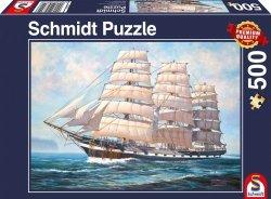 Puzzle 500 Schmidt 58311 Żaglowiec