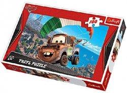 Puzzle 100 Trefl T-16187 Auta 2 - Latający Złomek