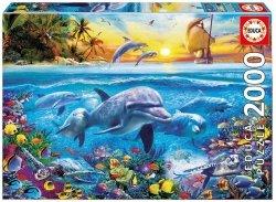 Puzzle 2000 Educa 17672 Delfiny