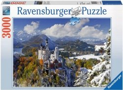 Puzzle 3000 Ravensburger 170623 Zamek Neuschwanstein