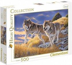 Puzzle 500 Clementoni 35033 Wilki