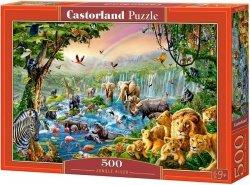 Puzzle 500 Castorland B-52141 Zwierzęta Afrykańskie