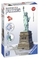 Puzzle 3D 108 Ravensburger 125845 Statua Wolności
