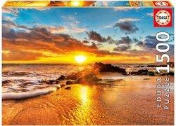 Puzzle 1500 Educa 16771 Zachód Słońca - Maui - Desire