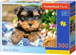 Puzzle 300 Castorland B-030187 Piesek w Koszyku