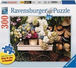 Puzzle 300 Ravensburger 135660 Kwiaty i Kapelusze