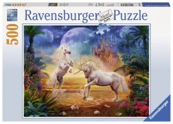 Puzzle 500 Ravensburger 147434 Jednorożce