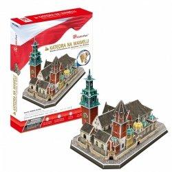 Puzzle 3D CubicFun 101 Katedra na Wawelu - Kraków - MC226h