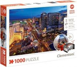 Puzzle 1000 Clementoni 39404 VR - Las Vegas
