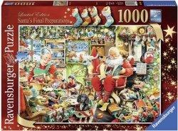 Puzzle 1000 Ravensburger 195589 Święty Mikołaj