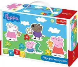 Puzzle Baby Classic Trefl T-36061 Świnka Peppa
