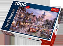 Puzzle 3000 Trefl 33033 Wesołe Miasteczko