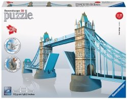 Puzzle 3D 216 Ravensburger 125593 Most Tower Bridge - Londyn