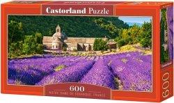 Puzzle 600 Castorland B-060313 Klasztor - Lawendowe Pole