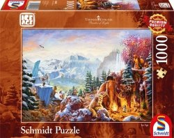 Puzzle 1000 Schmidt 59481 Thomas Kinkade - Epoka Lodowcowa
