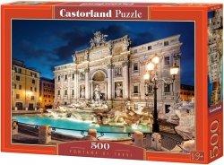 Puzzle 500 Castorland B-52332 Fontana di Trevi