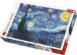 Puzzle 1000 Trefl 10465 Van Gogh - Gwieździsta Noc