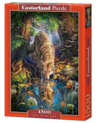 Puzzle 1500 Castorland C-151707 Wilk w Naturze