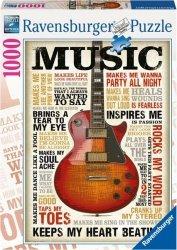 Puzzle 1000 Ravensburger 196159 Muzyczna Pasja