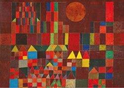 Puzzle 1000 Piatnik P-5464 Klee - Burg und Sonne