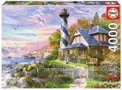Puzzle 4000 Educa 17677 Latarnia Morska w Rock Bay