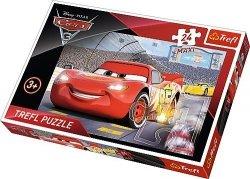 Puzzle 24 Maxi Trefl 14250 Auta - Cars 3 - Mistrz