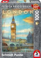 Puzzle 1000 Schmidt 59585 Patrick Reid Obrien - Londyn