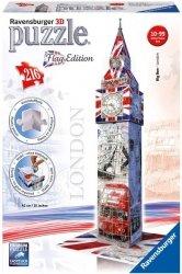 Puzzle 3D 216 Ravensburger 125821 Flag Edition - Big Ben