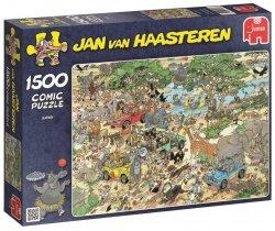 Puzzle 1500 Jumbo 17016 Safari - Jan van Haasteren