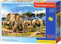 Puzzle 300 Castorland B-030019 Słonie - Kilimanjaro Morning