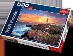 Puzzle 1500 Trefl 26053 Latarnia Morska w Irlandii