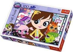 Puzzle 100 Trefl T-16287 Pet Schop - W Gronie Przyjaciół
