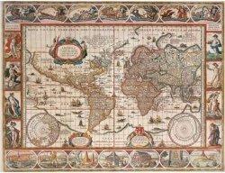 Puzzle 2000 Ravensburger 166336 Mapa Świata