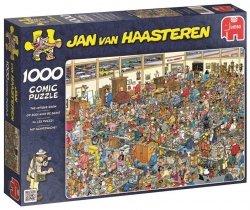 Puzzle 1000 Jumbo 01886 Jan van Haasteren - W Antykwariacie