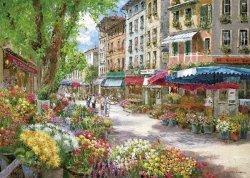Puzzle 1000 Schmidt 58561 Sam Park - Targ z Kwiatami - Paryż