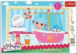 Puzzle Ramkowe 15 Trefl 31161 Lalaloopsy - Kąpiel Mariny