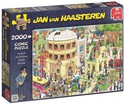 Puzzle 2000 Jumbo 19016 Jan Van Haasteren - Ucieczka z Aresztu