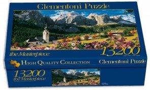 Puzzle 13200 Clementoni 38007 Sellagruppe Dolomit
