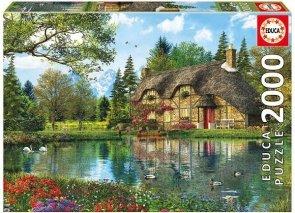 Puzzle 2000 Educa 16774 Lake View Cottage