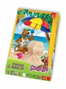 Puzzle 24 Maxi Trefl 14115 Scooby-Doo Na Plaży