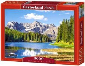 Puzzle 3000 Castorland C-300198 Misurina Lake, Italy
