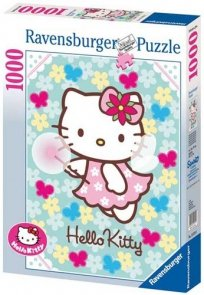 Puzzle 1000 Ravensburger 155750 Kitty Wróżka