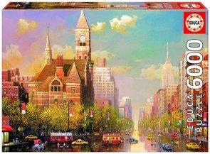 Puzzle 6000 Educa 16783 New York Afternoon - Alexander Chen