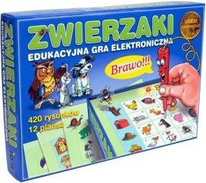 ! Zwierzaki Edukacyjna Gra Elektroniczna