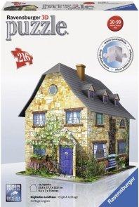 Puzzle 3D 216 Ravensburger 125852 Angielski Dom